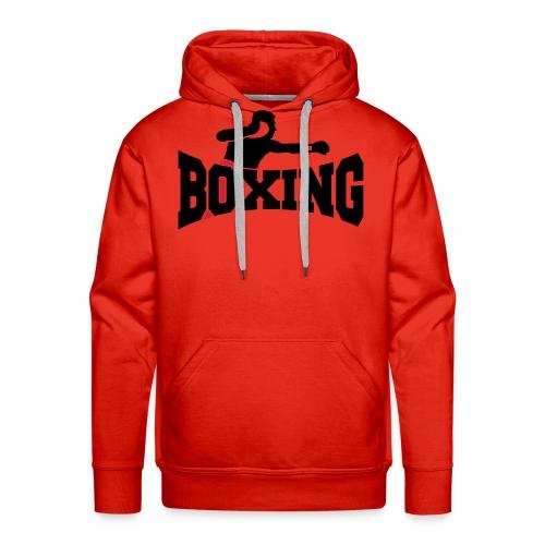 Boxing - Felpa con cappuccio premium da uomo