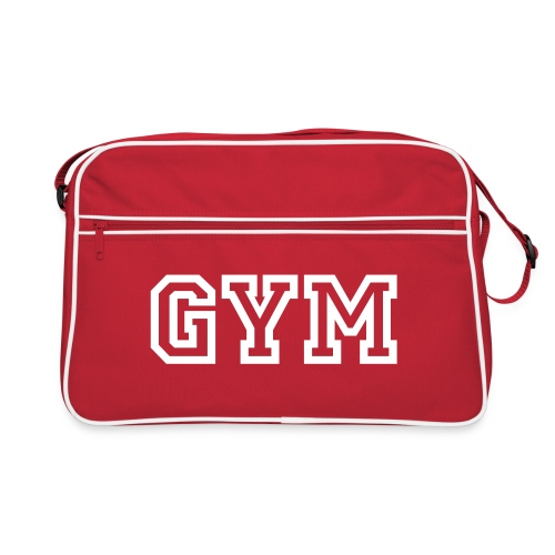 Sac Retro GYM Blanc - Sac Retro