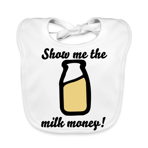 Milk Money - Baby Organic Bib