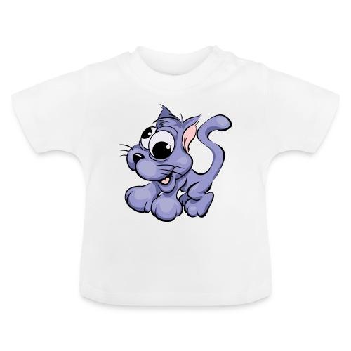 chat débile - T-shirt Bébé