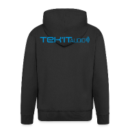 Hoodies & Sweatshirts ~ Men's Premium Hooded Jacket ~ Tek'it Audio