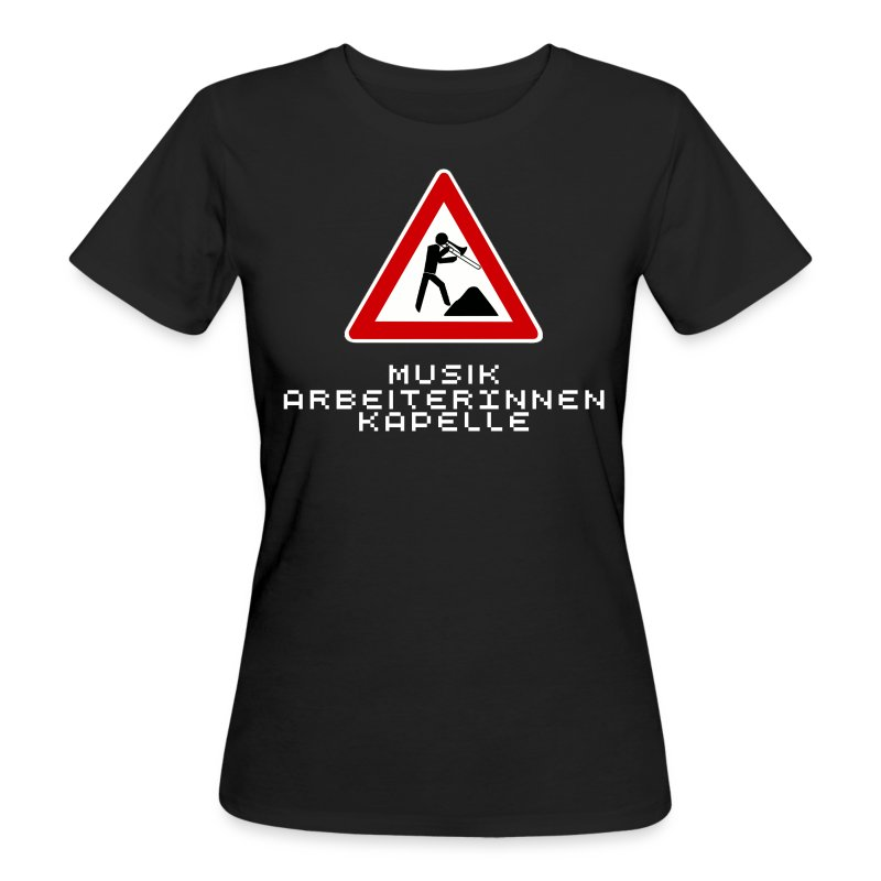 posaune_female - Frauen Bio-T-Shirt