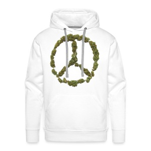 Weed and Worldpeace - Männer Premium Hoodie