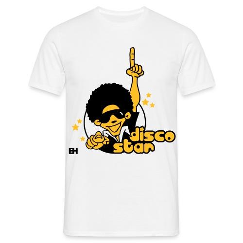 Disco Star! - Herre-T-shirt