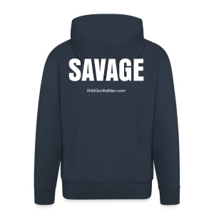 Mens SAVAGE Hoodie - Men's Premium Hooded Jacket