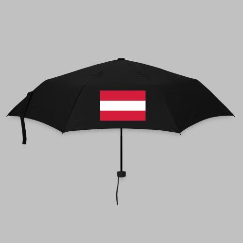 Österreich (Flagge vorn) - Regenschirm klein - Regenschirm (klein)