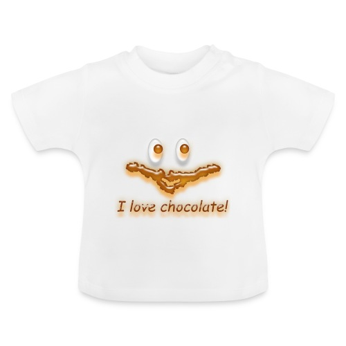 I love chocolate! - Baby T-Shirt