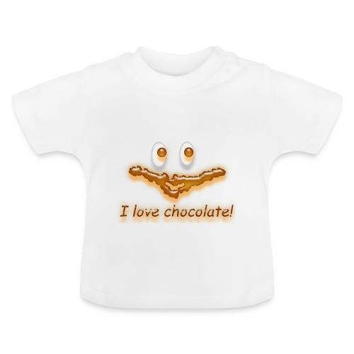 I love chocolate! - Baby T-Shirt