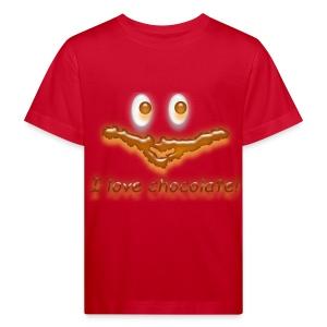 I love chocolate! - Kinder Bio-T-Shirt
