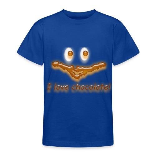 I love chocolate! - Teenager T-Shirt