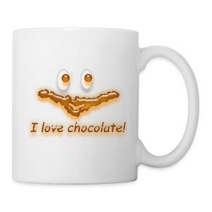 I love chocolate! - Tasse