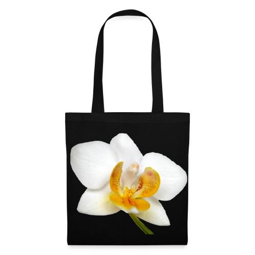 Stofftasche Orchidee - Stoffbeutel