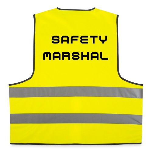 Safety Marshal bib - Reflective Vest