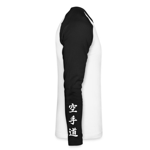 karatedo - Langærmet herre-baseballshirt