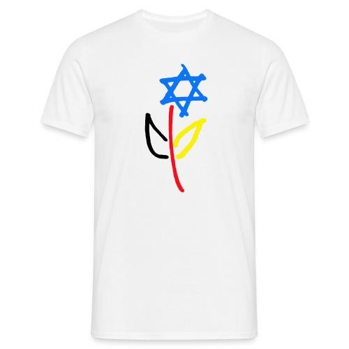Deutsch Israelische Freundschaft - Männer T-Shirt