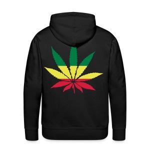 Kannabishuppari - Miesten premium-huppari