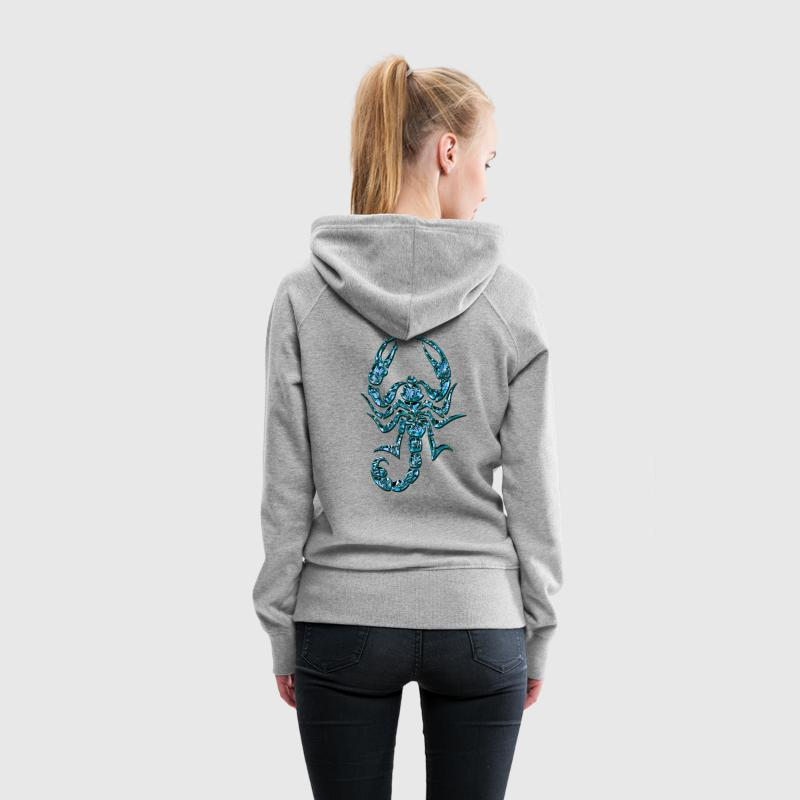Blue Scorpion, DD Hoodies & Sweatshirts - Women's Premium Hoodie