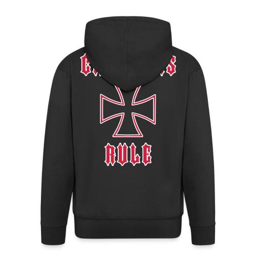 Choppers Rule Zip Hoody - Men's Premium Hooded Jacket
