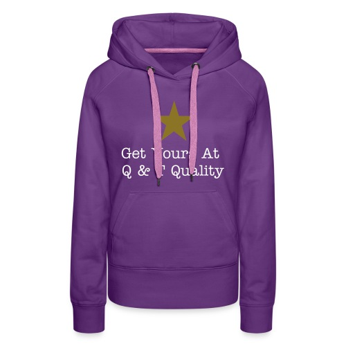 Q & T Quality Merchandise Shirt (Kids/Purple) - Women's Premium Hoodie