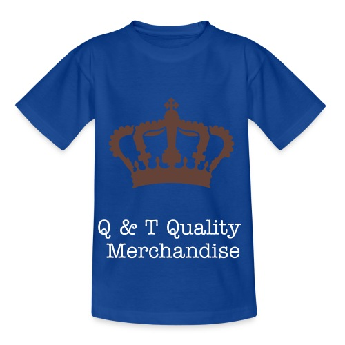 Q & T Quality Shirt (Purple) - Teenage T-Shirt