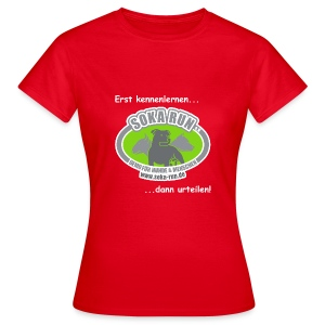 Frauen T-Shirt, Logo & Text - Frauen T-Shirt