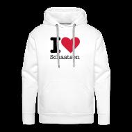 Sweaters ~ Mannen Premium hoodie ~ I Love Schaatsen Sweater
