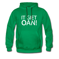 Sweaters ~ Mannen Premium hoodie ~ IT GIET OAN! Sweater
