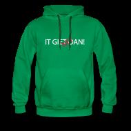 Sweaters ~ Mannen Premium hoodie ~ IT GIET NET OAN! Sweater