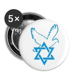Friend of Israel - Buttons groß 56 mm