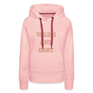 Warm and Cosy Pink Fleece - Women's Premium Hoodie