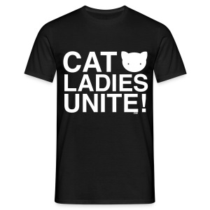 Cat Ladies Unite! - Men's T-Shirt