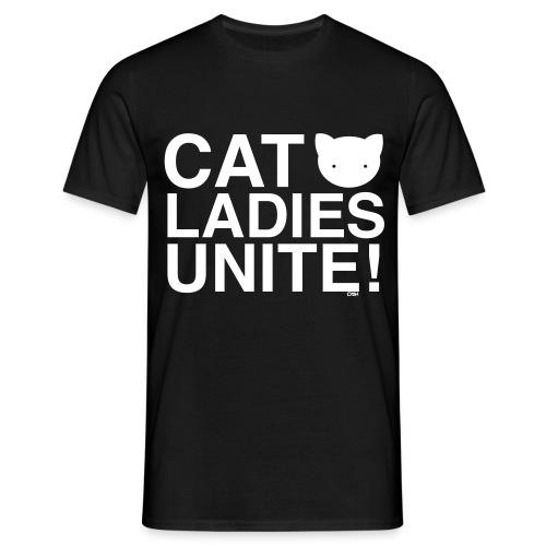 Cat Ladies Unite! - Men's T-Shirt