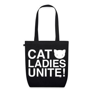 Cat Ladies Unite! - EarthPositive Tote Bag