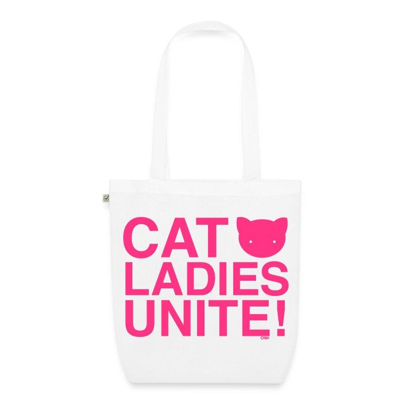 Cat Ladies Unite! - EarthPositive Tote Bag