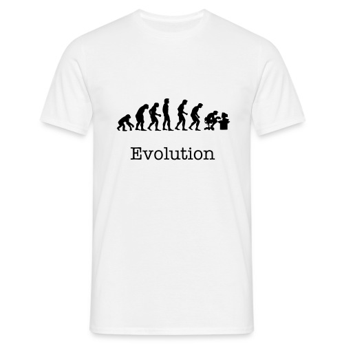 Evolution - Male T-Shirt - Men's T-Shirt