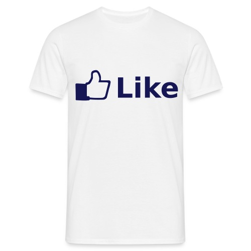 Facebook 'Like' - Male T-Shirt - Men's T-Shirt