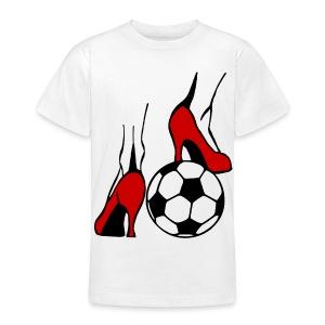 Frauenfussball - Teenager T-Shirt