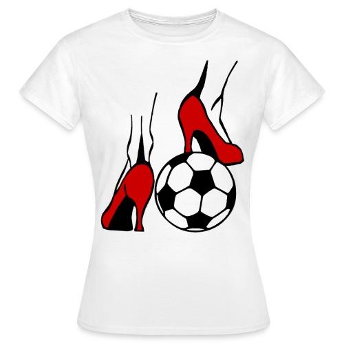 Frauenfussball - Frauen T-Shirt