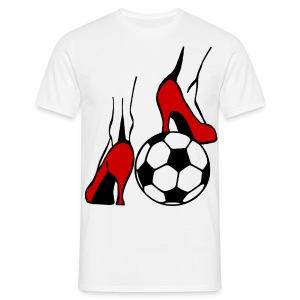 Frauenfussball - Männer T-Shirt