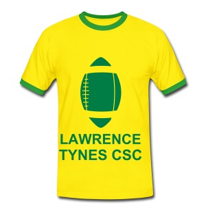 Lawrence Tynes Celtic Tee Yellow - Men's Ringer Shirt