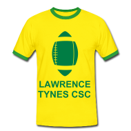 T-Shirts ~ Men's Ringer Shirt ~ Lawrence Tynes Celtic Tee Yellow