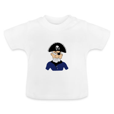 Pirati T-shirt neonato