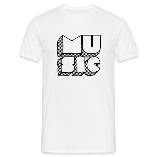 Love musique homme O7 - T-shirt Homme