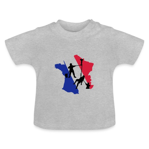 Sauvetage victime France Tricolore - T-shirt Bébé