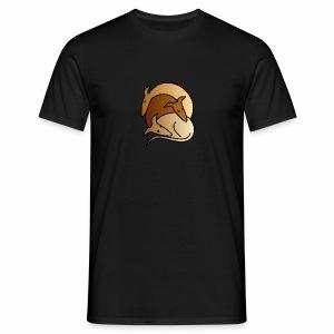 3 Galgos bunt - Männer T-Shirt