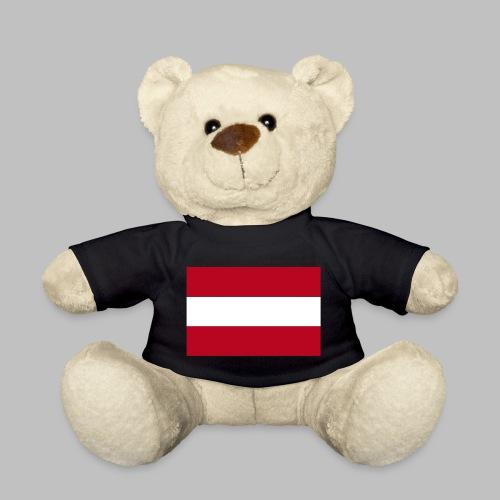 Österreichische Flagge, Vektor 2-farbig - Teddy - Teddy