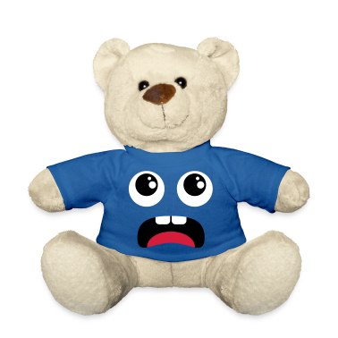 Terrified face - Comic Teddies