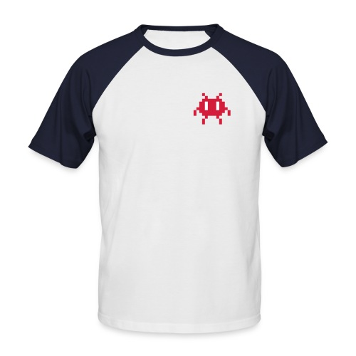 Männer Baseball-T-Shirt - invasion,geek,alien,Nerd
