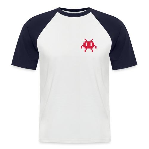 Männer Baseball-T-Shirt - Nerd,alien,geek,invasion