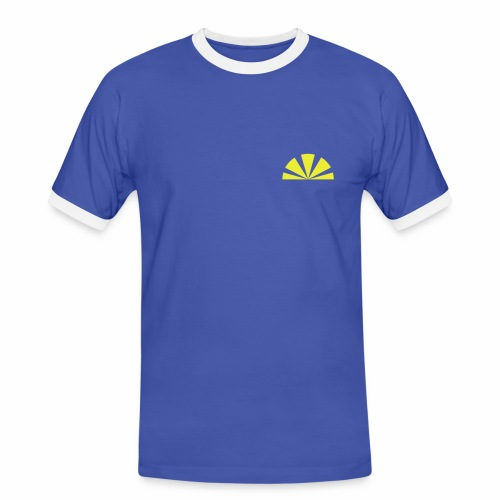 Sunrise - Männer Kontrast-T-Shirt